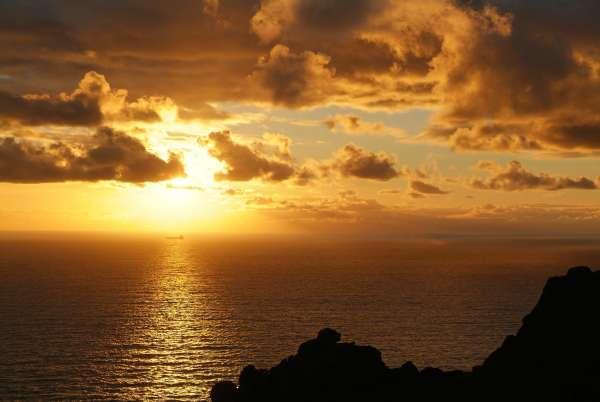 Soar Mill Cove Ocean Sunset
