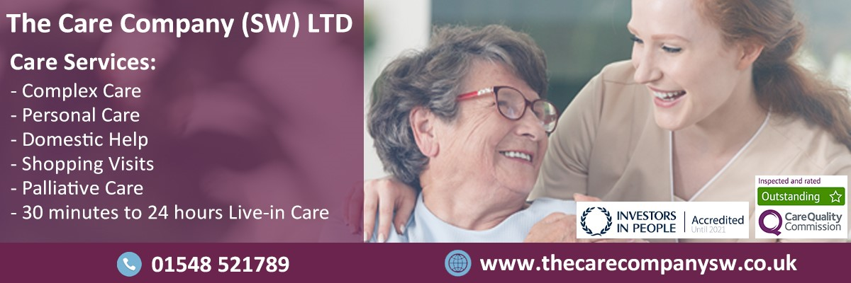The Care Company (SW) Ltd - Care & Community Services in East Allington Totnes - South Hams - Devon | SouthHams.com
