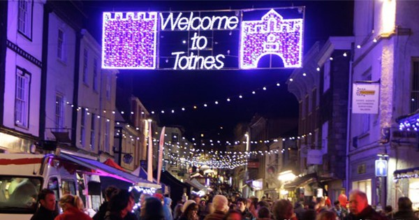 Totnes Late Night Christmas Shopping Tbc December In