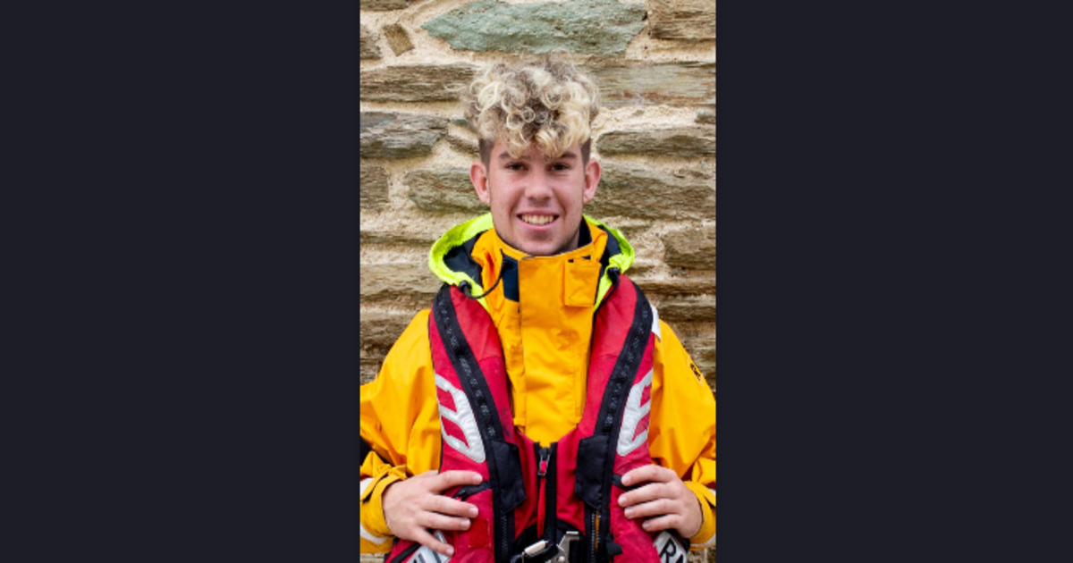 Salcombe RNLI congratulates its youngest ever Lifeboat Helm