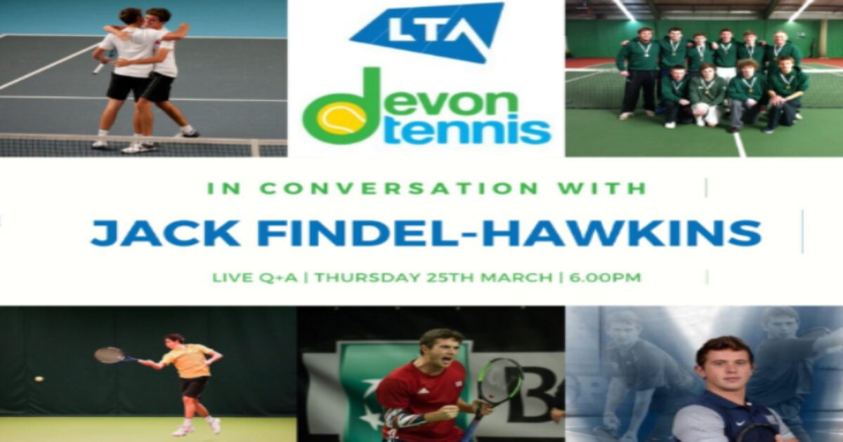 Devon Tennis invites you to be 'In Conversation with Tennis Role Models'