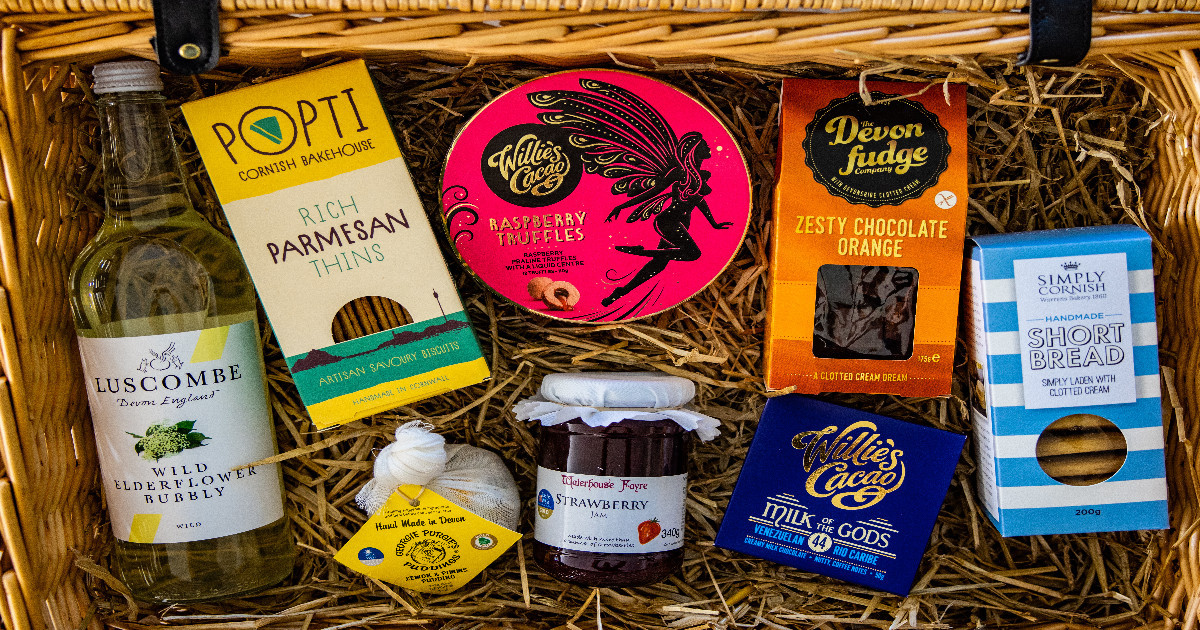 The husband and wife team taking the world of luxury hampers by storm