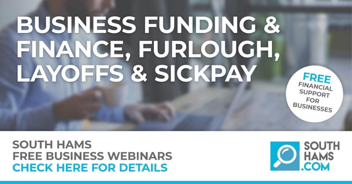 South Hams Business Finance and Employment Webinar