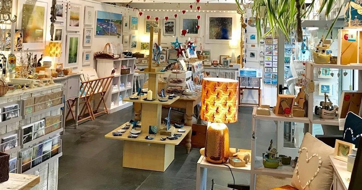 A treasure trove of local craftsmanship at The Gallery at Avon Mill in Loddiswell