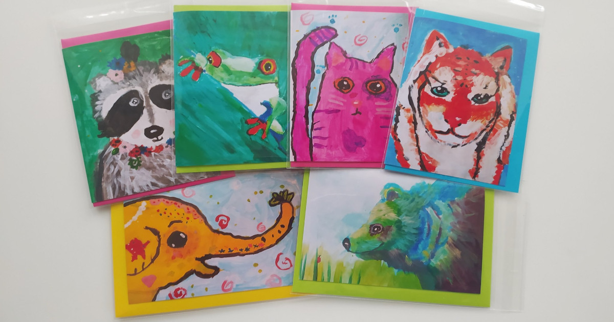 Romi raises £400 for Children In Need with her original artwork