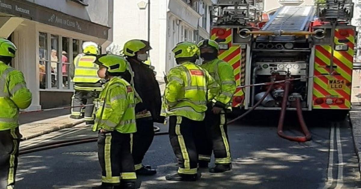 Two taken to hospital after gas leak in Totnes salon