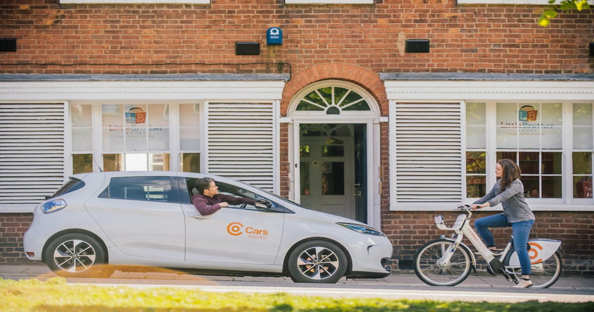 Would you be interested in an electric car or bike share scheme?