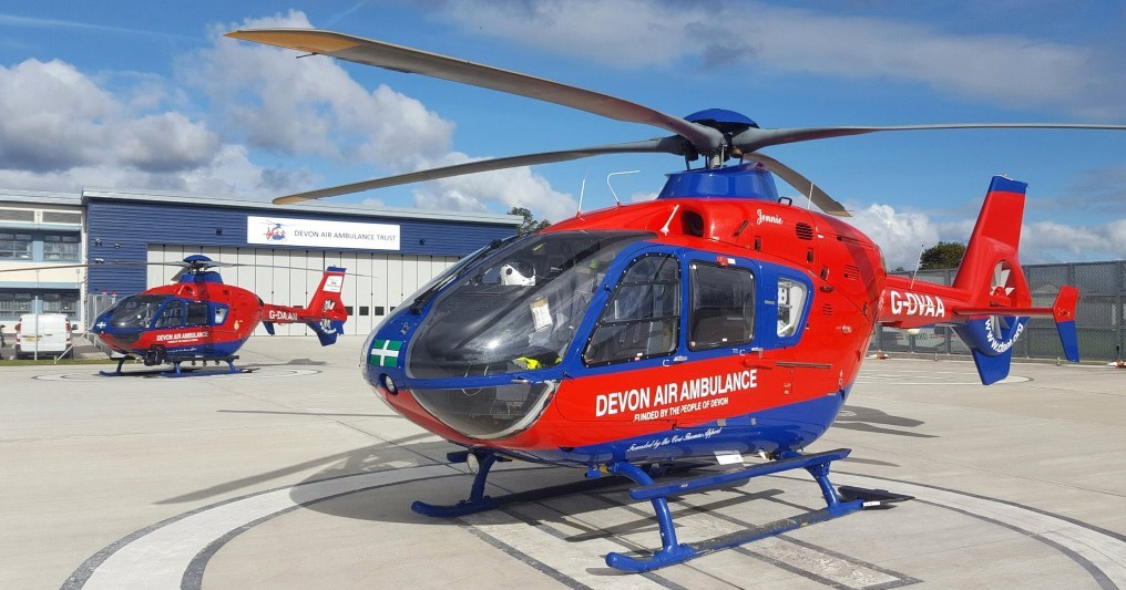 Devon air ambulance blog