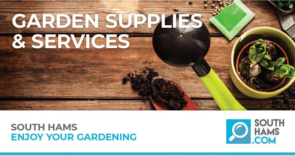 Local South Hams Garden Supplies and Services