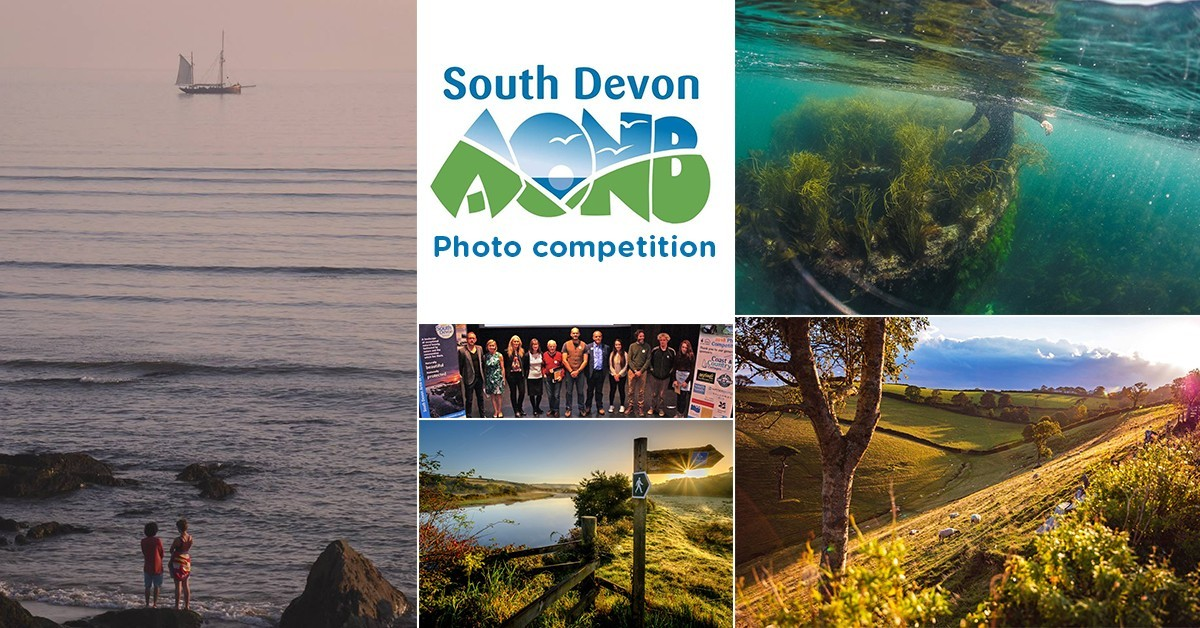 winners of the South Devon AONB photography competition 2018