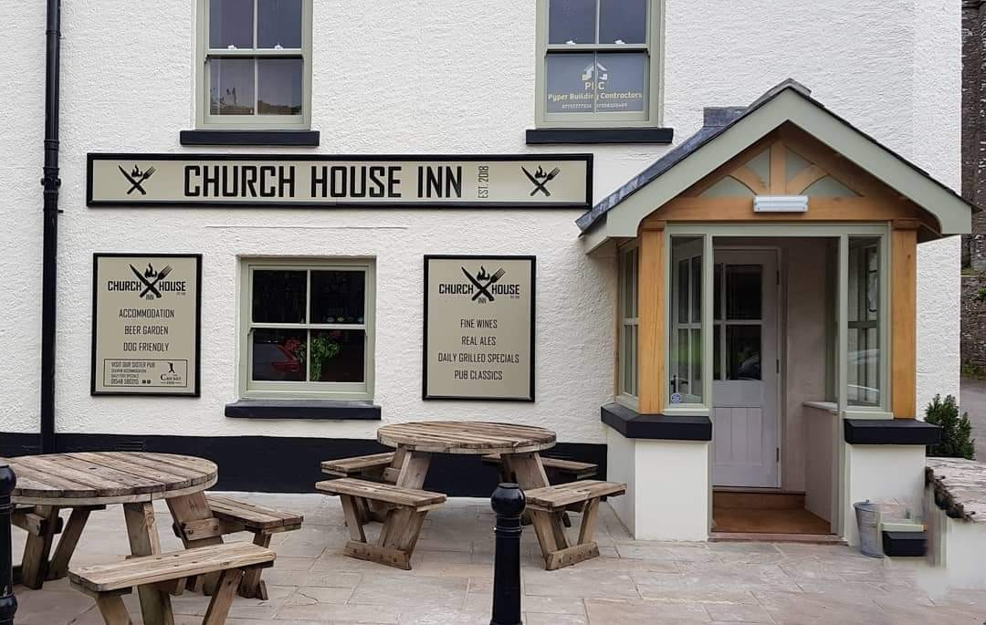 A South Hams pub with an indoor barbecue all year round