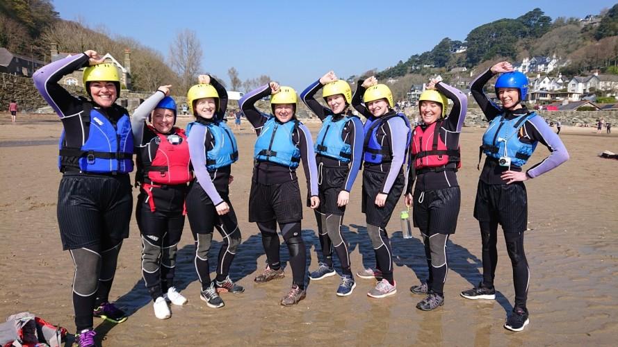 Salcombe Coasteering - Hen Group - Adventure South