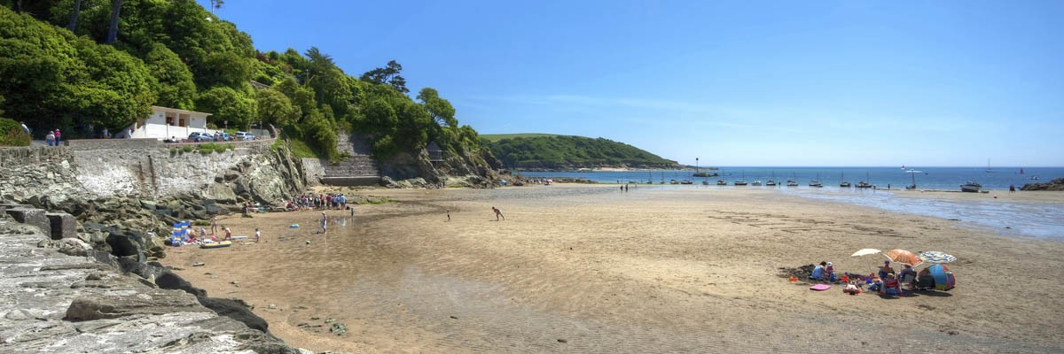 North Sands Beach Salcombe South Devon