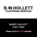 B W Hollett Plastering Services