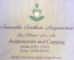 Samantha Southern Acupuncture and Cupping