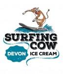 Surfing Cow Devon Farm Ice Cream
