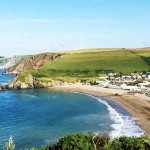 Challaborough Beach near Bigbury in South Devon