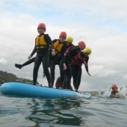 School Group Adventure - Mega-SUP - Aventure South