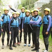 A coasteering group in Salcombe - Adventure South