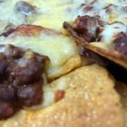 Chilli Con Carne topped Nachos