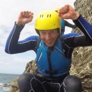 Fun coasteering at Gara Rock Devon - Adventure South