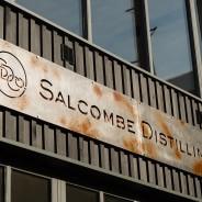 Salcombe Distilling Co. Metal, laser cut sign