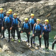 A Stag Group Coasteering In Devon - Adventure South
