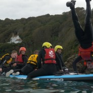 Mega-SUP in North Sands - Adventure South