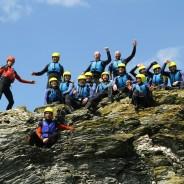 Team Building Ideas Devon - Coasteering - Adventure South