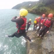 The Best Coasteer location - Devon - Adventure South