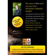 Wilkins Chimney Sweep Leaflet 1/2