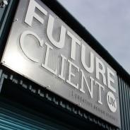 Futureclient Laser Cut Sign