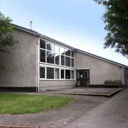 Outside of Hall