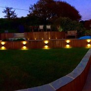 New outdoor lighting controlled by Iphone