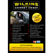 Wilkins Chimney Sweep Leaflet 2/2