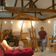 Every Friday morning at Harbour House: life drawing