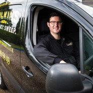 Wilkins Chimney Sweep Van