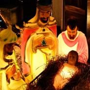 Nativity theme in Churchstow, South Devon