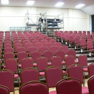 Hall Set up with chairs