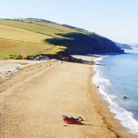 Hallsands Beach South Devon