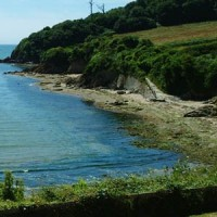 Coastguards Beach Flete Estate South Devon