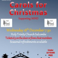 Alvington Singers Christmas Concert in Salcombe - TBC