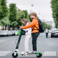 Police warn about use of e-scooters on public land