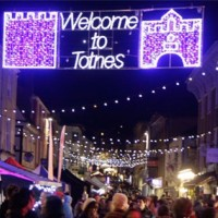 Totnes Christmas Late Night Shopping