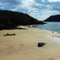 Sunny Cove Beach Salcombe South Devon