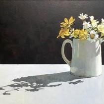 Spring Flowers- James Stewart - Oil on board - £770