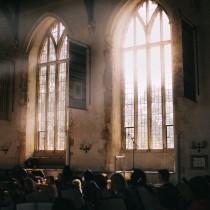 Dartington Great Hall during a concert