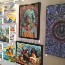 Salcombe Contemporary Art Fair - Artists Work