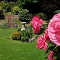 Glazebrook Garden with Flowers