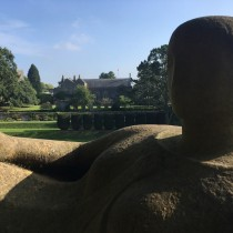 A Henry Moore Sculpture in Dartington's Grounds